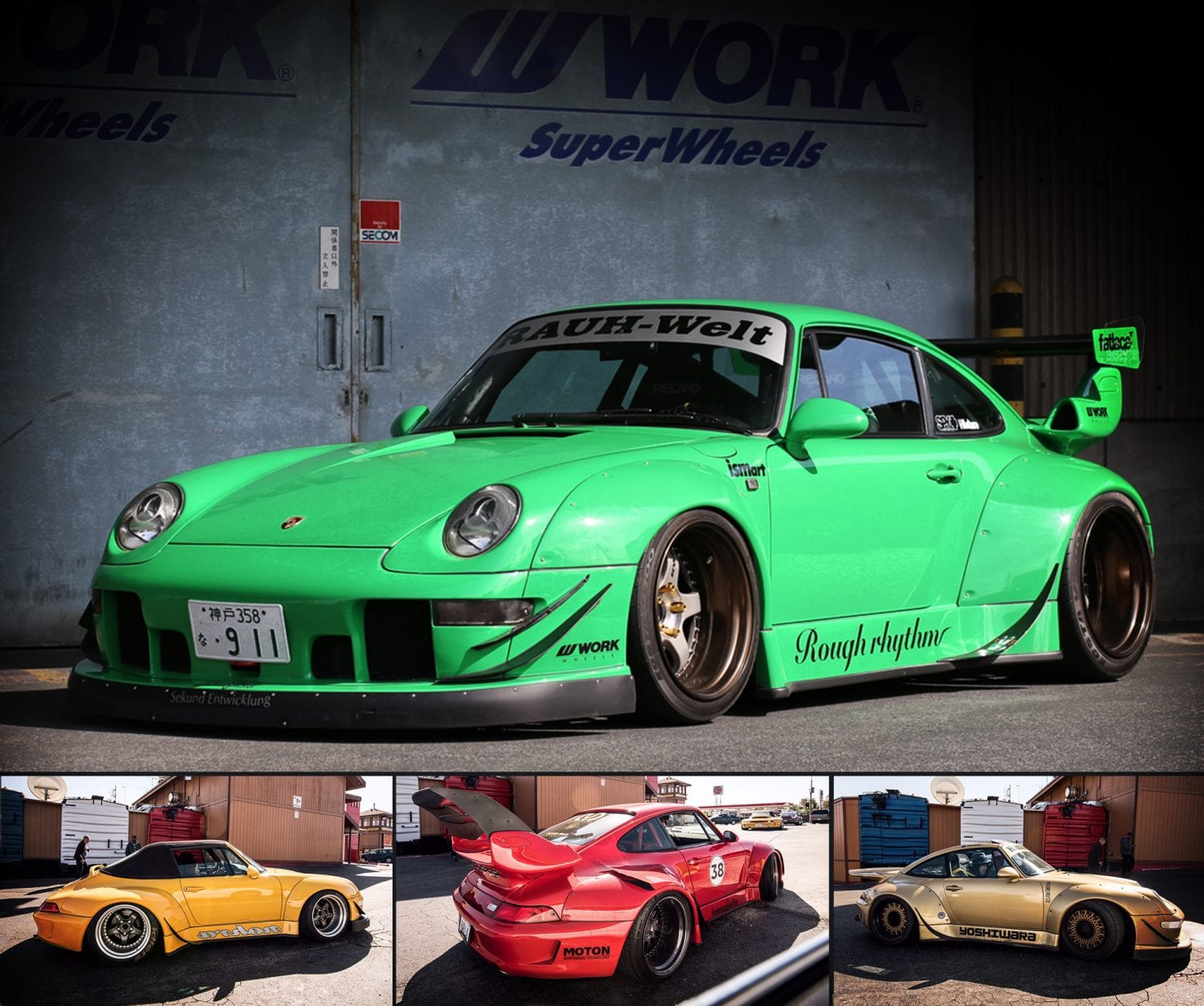 RWB UK Rauh Welt Begriff Porsche 911 Body conversion Kit